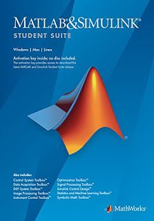 MATLAB and Simulink Student Suite provides the same tools that professional engineers and scientists use every day. With MATLAB and Simulink Student Suite, you can excel in your courses, have fun with projects, and build important career skills.  MATLAB and Simulink Student Suite is for use by students on student-owned hardware to meet course requirements and perform academic research at degree granting institutions only. It is not available for government, commercial, or other…