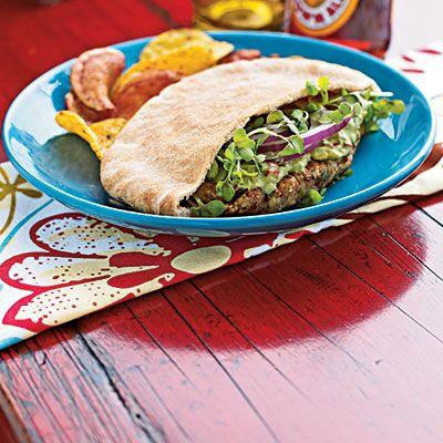 Falafel with Avocado Spread! Vegan Falafel!