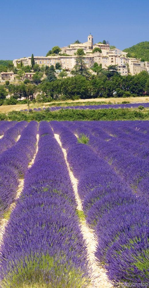France : Banon, village du Luberon - Alpes de Haute-Provence
