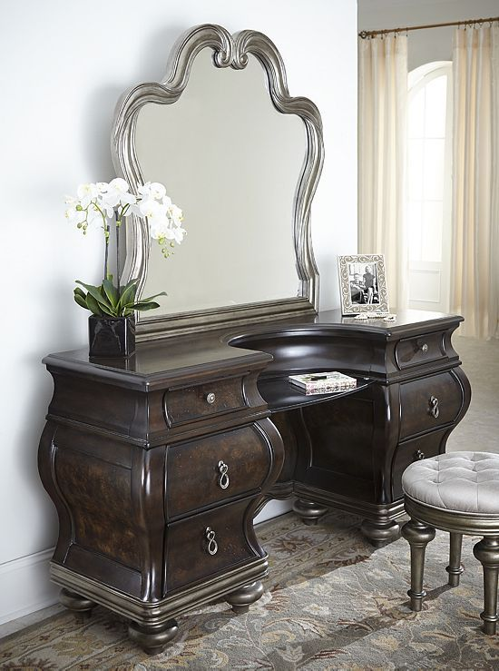 Bedrooms Angelina Vanity Bedrooms Havertys Furniture