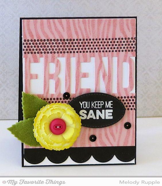 Friends like Us, Friends Die-namics, Layered Leaves Die-namics, Layered Rose Die-namics, Stitched Oval STAX Die-namics, Zebra Stencil - Melody Rupple #mftstamps