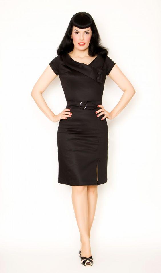 Vanessa Dress, $92: Retro Dress, Girl Clothing, Cute Dresses, Prom Dress, Pinup Girl, Little Black Dresses, Dresses Pinup