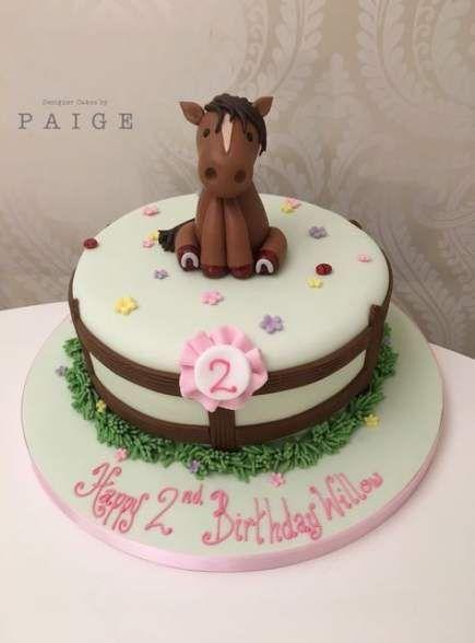 Fondant Pony Horse Cake Topper Blue Flower Optional Farm Animals Country Color Optional
