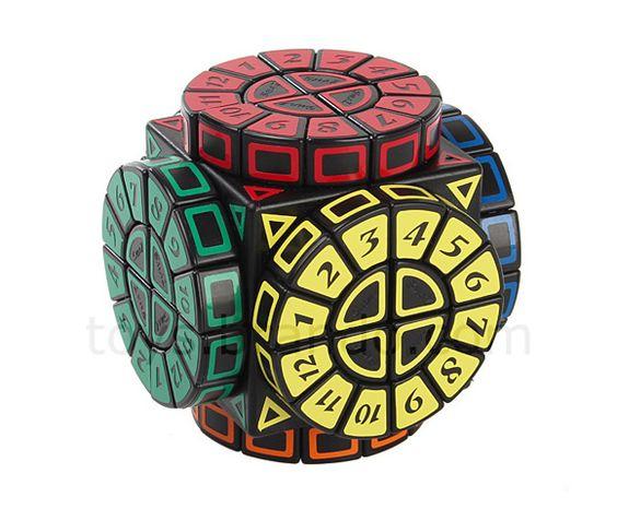 A coisa toda se complica quando o cubo mágico tem formato de roleta de números