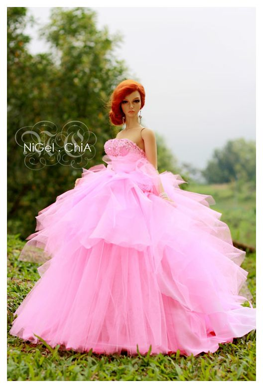 NiGel.ChiA a fashion design victim: The Pink Couture