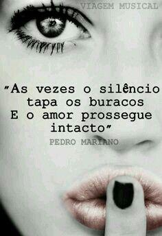 O SILÊNCIO...