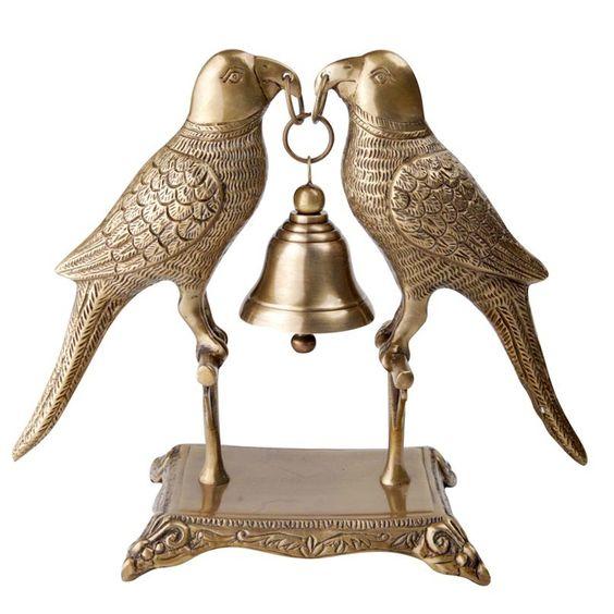 Peroquet Brass Bell
