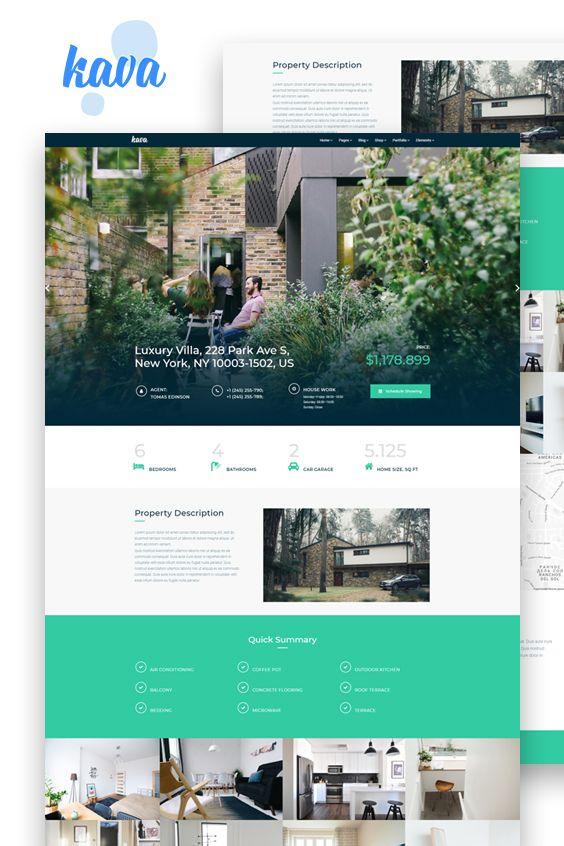 Real Estate Website Template Real Estate Website Design Real Estate Web Design Inspiration Real Estate Web Design