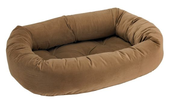 Bowsers Acorn Donut Dog Bed