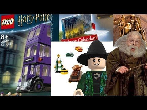 Lego Harry Potter 2019 The Knight Bus Advent Calendar Set Pictures Lego Harry Potter Harry Potter Advent Calendar Harry Potter