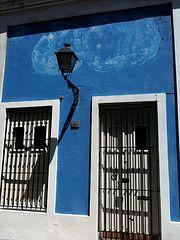 Cobalt blue patina