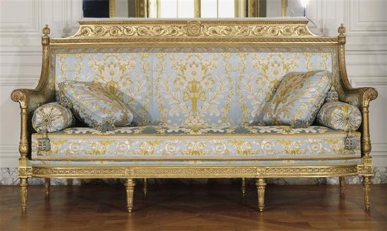 georges jacob canap si ge du salon des jeux de louis xvi saint cloud grand cabinet du. Black Bedroom Furniture Sets. Home Design Ideas