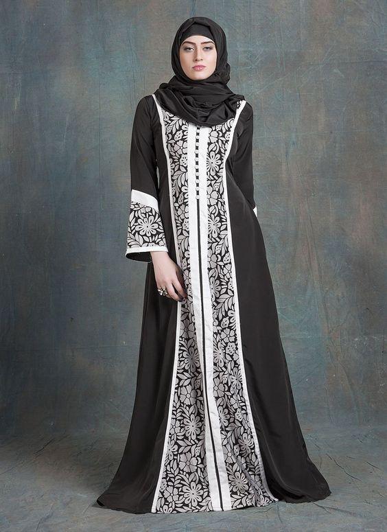 Jacket Style Abaya Kaftan Jacket Style, Brasso Fabric, Black Color, Buttons Work, – Arabic attire  #blackkaftan #womendressesabaya #designercaftans #kaftanshop #arabicattireblack