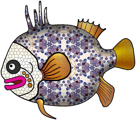 ArtbyJean - Paper Crafts: ---ANIMALS FISH REPTILES INSECTS