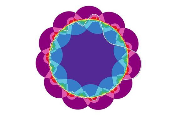 Mathematicians grow an 11-set Venn diagram rose - wired