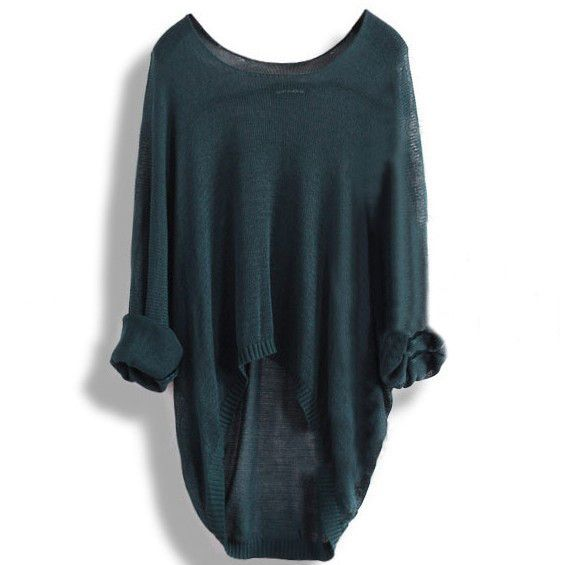 Irregular Hollow out Long Sweaters