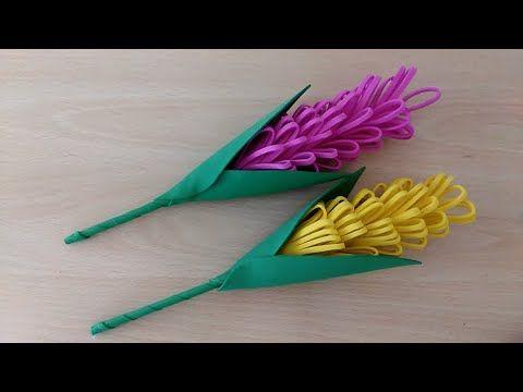 عمل ورود من ورق الفوم اعمال فنية اعمال يدوية How To Make Paper Flower Youtube Paper Crafts Origami Paper Crafts Card Making