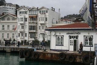 Arnavutkoy iskele (ferry dock), Istanbul, Turkey | Meeting here for dinner tonight