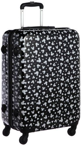 Mickey Mouse Black Suitcase