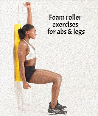 8 Foam Roller Exercises for Flat Abs and Lean Legs: Lean Legs, Health Fitness, Flat Abs, Foam Rollers, Foam Roller Exercises Abs, Pilates Foam Roller Exercises