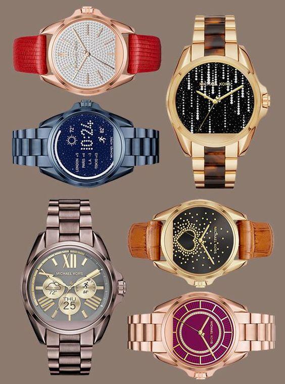 Zoom sur la montre intelligente Michael Kors Access sur LOULOUmagazine.com.