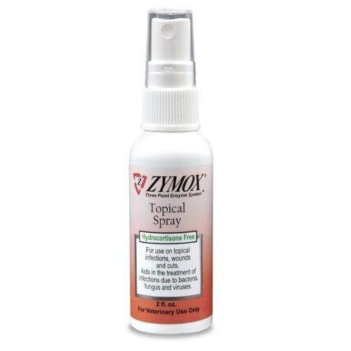 Zymox Topical Spray NO Hydrocortisone (2 oz)
