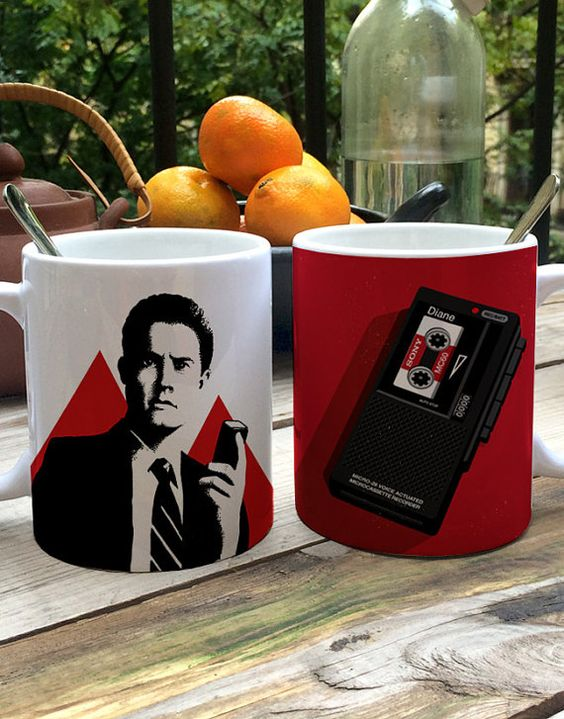 Tasses Pack 2  Twin Peaks  hommage de David Lynch par BagApart