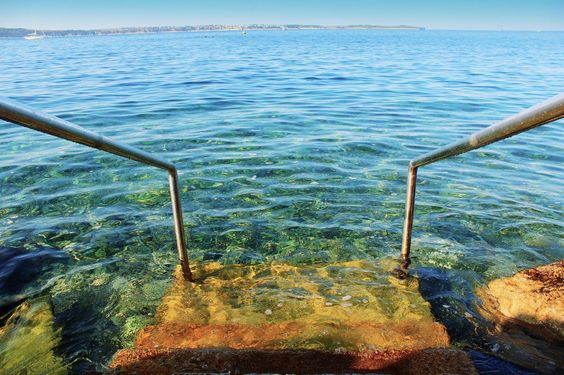 Stairs into the mediterranean - Imgur