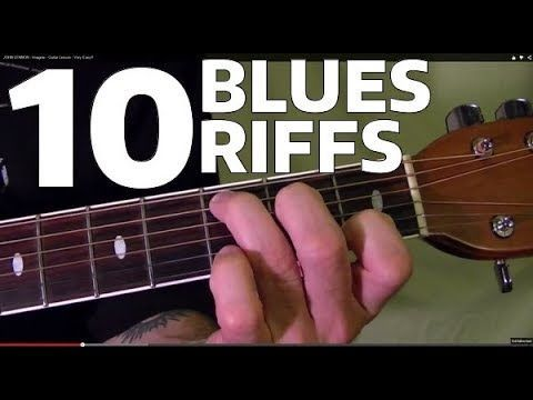 10 Must Learn Blues Guitar Riffs Easy Youtube Electricguitar Guitar Lessons Songs Blues Guitar Lessons Playing Guitar
