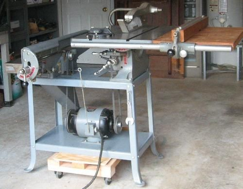 Nice Vintage Combo With 10 Saw And 6 Jointer Delta Manufacturing Co Delta Rockwell Combo Machine Vintagemachinery Org Rockwell Manufacturing Wood Shop
