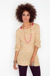 Addison Knit - Mustard