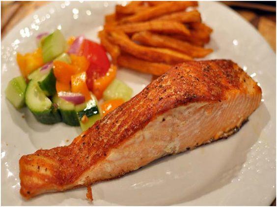 Salmon for skin