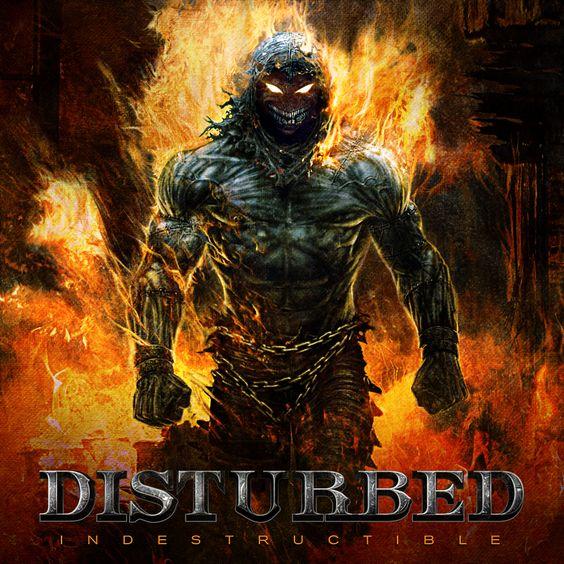Disturbed – Indestructible (single cover art)