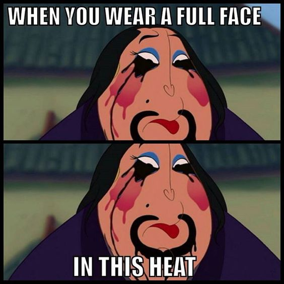 I haven't been posting any makeup pictures because this heat got me like tf it's too hot to be wearing makeup.  #lmfao #makeupproblems #tohot #cantwaitforfall #thestruggleisreal