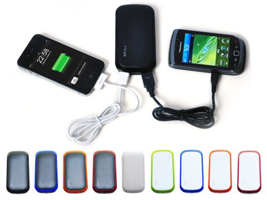 Power Shine Colors for Smart Phone and Tablets (4000 mAh) by MiLi Power
