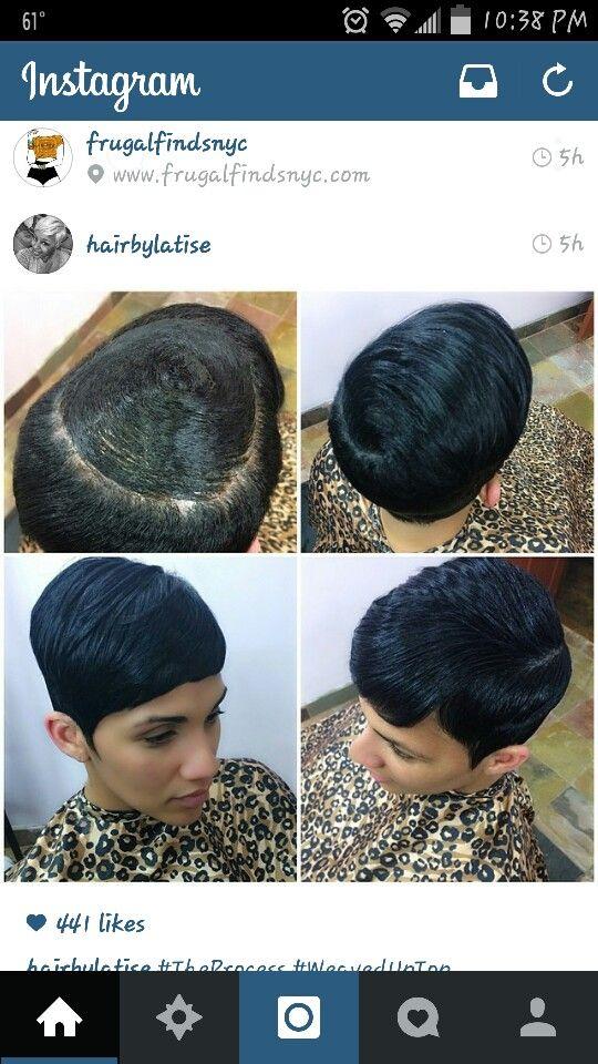 Short Pixie Quick Weave Best Short Hair Styles