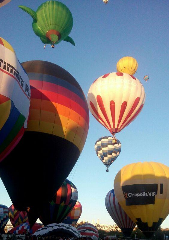 Festival del globo en León, Gto.