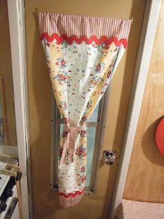 Gracie's Victorian Rose: February 2012 door curtain
