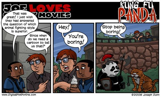 Better Late Than Never Comic Kung Fu Panda