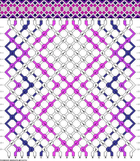 20 strings 20 rows 4 colors