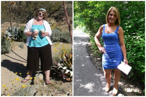 Before and after.... never give up! Anything is possible!