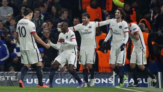 Chelsea x PSG (créditos: Reuters)