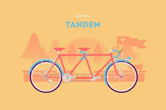 Descubre cual es tu bicicleta ideal en estas ilustraciones