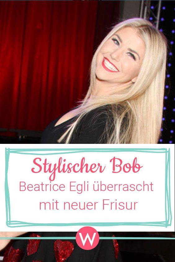 Beatrice Egli Die Haare Sind Ab Beatrice Egli Frisuren Haare