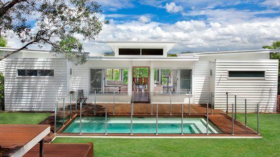 Confira aqui varios fotos com modelos de faxadas de casas for Modelos de piscinas de campo