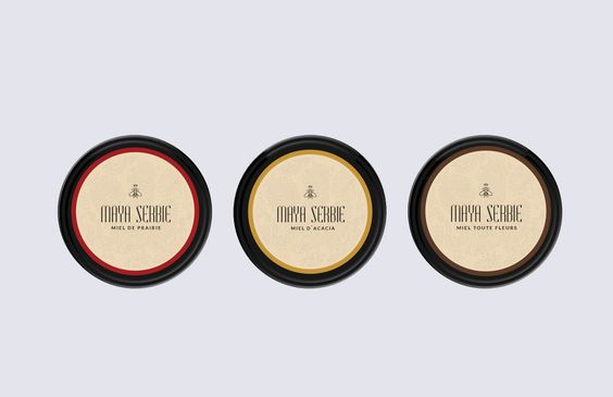 Maya Serbie Honey on Packaging of the World - Creative Package Design Gallery