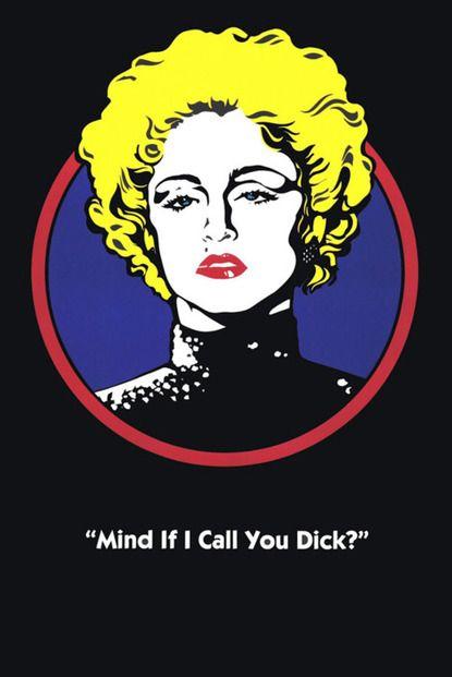Mind if I call you Dick ?