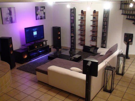 Media Room Setup Ideas