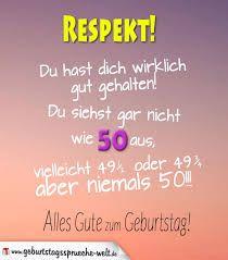 Bildergebnis Fur Frau 50 Geburtstag Lustig Spruche Zum 50