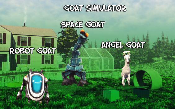 Goat Simulator - In space no one can hear you Baaaaa